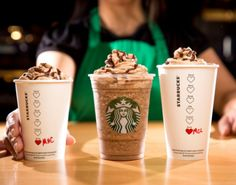 Starbucks has released 3 new chocolate drinks just in time for Valentine's Day: Molten Chocolate Latte, Molten Chocolate Frappuccino, and Molten Hot Chocolate! Available now through February only. Tag a Starbucks lover! Starbucks Frappuccino, Bebidas Do Starbucks, Secret Starbucks Drinks, Starbucks Secret Menu, Starbucks Coffee, Starbucks Recipes, Starbucks Valentines Drinks, Starbucks Flavors, Pink Starbucks