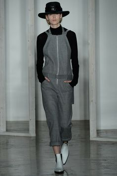 Dion Lee | Fall 2014 Ready-to-Wear Collection | Style.com || I hadn't considered overalls until this very moment! Thank you Dion Lee