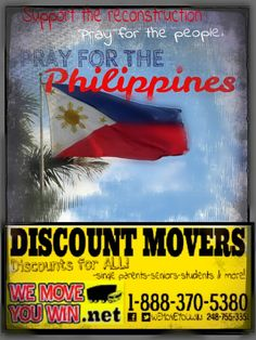 Pray for the Philippines ad