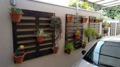 I love this crafty idea for hanging plants. Flower Pots, Flowers, Hanging Plants, First Home, Garden Projects, Garden Ideas, Ideas Para, Home And Garden, Indoor