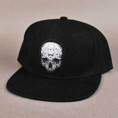 8a6f327be52 Witchcraft Hardware Witchcraft Skull Snapback Cap - Black - Witchcraft  Hardware from Native Skate Store UK