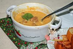 Sopa cremosa de cebola