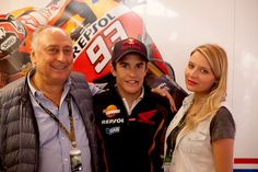 Veronica Ferraro (the Fashion Fruit) at Mugello: MotoGP with GAS Jeans President & Founder Claudio Grotto and Repsol Honda rider Marc Marquez!