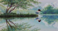 Studio Ghibli is a Japanese animation film studio founded in June 1985 by the directors **Hayao Miyazaki** and **Isao Takahata** and the producer. Hayao Miyazaki, Totoro, Firefly Movie, Hotaru No Haka, Studio Ghibli Films, Nausicaa, Isao Takahata, Grave Of The Fireflies, Anime Titles