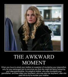 that awkward moment . . .