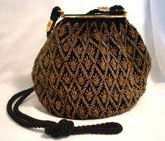 vintage Gucci Beaded Bag