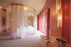 Designhotel in Austria for romantic moments Design Suites, Das Hotel, Romantic Moments, Oversized Mirror, Curtains, In This Moment, Austria, Furniture, Home Decor