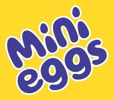 Mini Eggs - Rob Clarke Type Design & Lettering