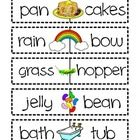 This fabulous FREEBIE features:    - a simple Compound Word Addition word work worksheet  - 15 compound word puzzles {laminate and cut out for durabil...