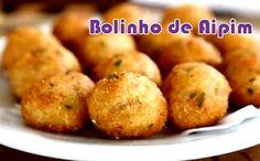 Receita proteica de bolinho de aipim da musa fitness Gracyanne Barbosa. Rende 6 porções de baixa calorias.