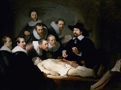 Rembrandt @ Magna Plaza: The Anatomy Lesson of Dr Tulp, 1632; Mauritshuis, The Hague