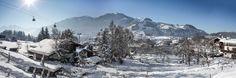 Panoramaausblick: Tennerhof Gourmet & Spa de Charme Hotel in Kitzbühel *** Luxushotel 5 Sterne Hotel Hotel Kitzbühel *** Relais & Châteaux Leading Spa Resorts Resort Spa, Mount Everest, Snow, Mountains, Nature, Travel, Outdoor, Gourmet, Dance Floors