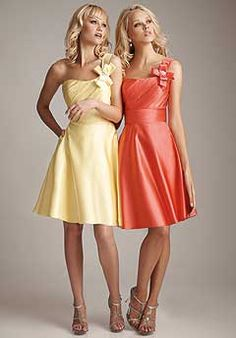 brides maid dresses color ful to match flowers http://apparelsdepot.com/product-category/woman-collection/bridesmaid-dresses/
