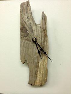 Cool driftwood clock