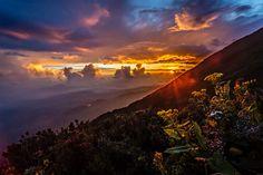 Kerinci Volcano under the sunset by Killian Blais on 500px