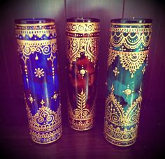 CUSTOM ORDER: Moroccan-Style Mexican Prayer Candles by Behennaed
