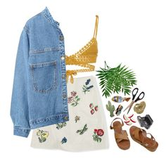 """Untitled #257"" by waliflower ❤ liked on Polyvore featuring Boden, SHE MADE ME, WithChic, MELLOW YELLOW, Rosita Bonita, Yunus & Eliza and Impossible Project"