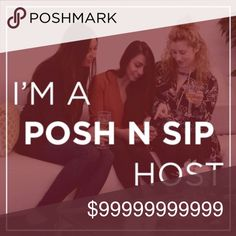 Posh N Sip in Lawrenceville on 10/13! 2pm, place in Lawrenceville to be announced! This is a Posh N Sip / Posh N Shop for poshers around Georgia! Meet, mingle and share tips & tricks while enjoying great food and drinks! Don't forget to bring your non posh friends and let them discover the world of Poshmark!! Other