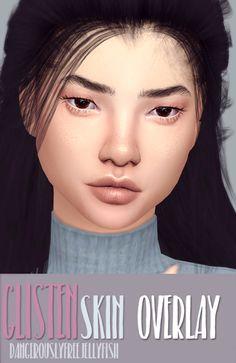 TS4 Glisten Skin - Overlay