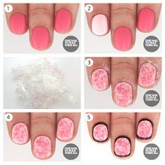 One Nail To Rule Them All: Saran Wrap Outline + Tutorial for Barry M