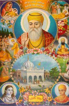 Guru Granth Sahib Quotes, Shri Guru Granth Sahib, Religious Photos, Religious Icons, Guru Nanak Wallpaper, Guru Nanak Ji, Guru Gobind Singh, Lord Vishnu Wallpapers, Art N Craft