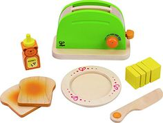 Hape - Playfully Delicious - Pop-Up Toaster - Play Set Hape http://smile.amazon.com/dp/B00712NTWQ/ref=cm_sw_r_pi_dp_My-tub1HFG7WB