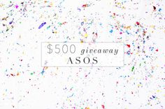 $500 Asos Giveaway - Lush to BlushLush to Blush