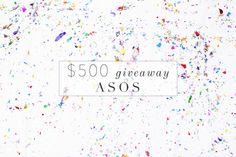 $500 Asos Giveaway - Lush to BlushLush to Blush