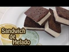 Sandwich de Helado Saludable | Postre saludable | MagniFit - YouTube