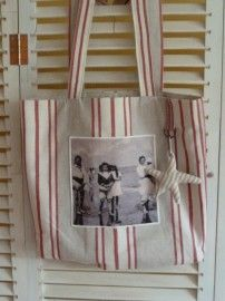 Tote Memories. I love the old photograph.
