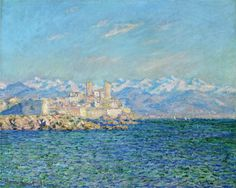 Antibes, Afternoon Effect - Claude Monet, 1888