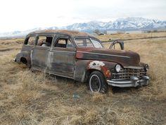 1947 Cadillac Hearse