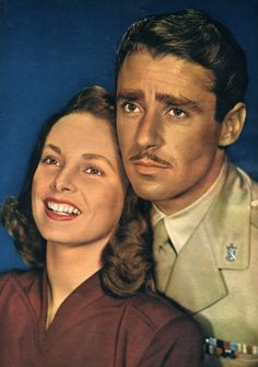 Peter Lawford & Janet Leigh (1949).