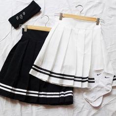 Stripes aa inspired tennis skirt by keekyducks