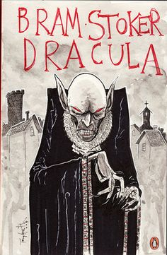 DRACULA cover by Ben Templesmith, via Flickr