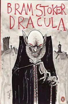 Dracula by Bram Stoker Bram Stoker's Dracula, Count Dracula, Arte Horror, Horror Art, Scary Movies, Horror Movies, Bram Stoker Books, Vampires, Films