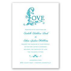 Only Love - Malibu - Invitation