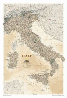 Features:  -Comes rolled in cardboard tube, laminated maps come in a protective sleeve.  -Scale = 1:1,765,000.  -Made in the USA.  -Antique coloring.  -Wall Maps Countries & Regions collection.  Produ