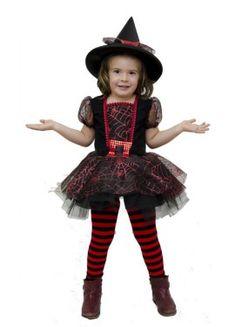 Disfraz de Brujita Tul para niña