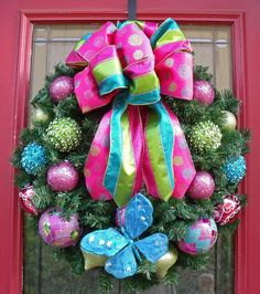 Happy wreath