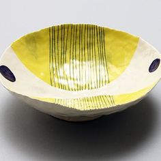 Andrew Ludick Bowl click now for info. Hand Built Pottery, Slab Pottery, Pottery Bowls, Ceramic Pottery, Pottery Art, Ceramic Clay, Ceramic Painting, Ceramic Plates, Painting Art