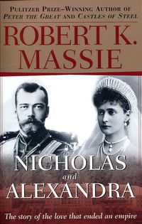 The book chronicles the lives of Nicholas II, the last czar of Russia, and his German born wife, Alexandra.  Both lost their lives, along with their children, during the Russian Revolution.