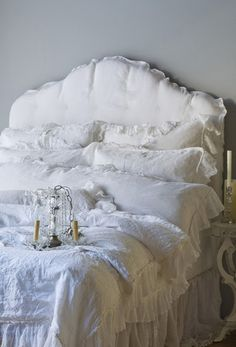 white bedroom #interior