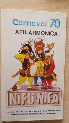 Cancionero Nifú nifá año 1978. Carnaval de Santa Cruz de Tenerife