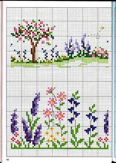 Gallery.ru / Фото #118 - crossstitch - waterlilies