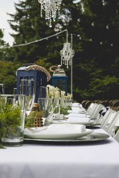 TARDIS table centerpieces