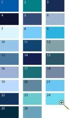 blue shades for summer color type. but watch out - blue color shouldn't be too bright (electric, for example, is not an option)   2 сине-зеленый 3 темно-синий 4 сине-черный 5 сине-серый 6 серо-голубой 7 бело-голубой 8 небесно-голубой 9 темно-голубой 10 цвет неба 11 берлинская лазурь 13 цвет джинсовый 14 кобальтовый цвет 15 цвет черного моря 16 гиацинтовый цвет 17 цвет морской волны 18 цвет стальной 20 сизый цвет 21 цвет топаз 23 цвет яйца дрозда
