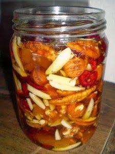 Frutos secos con miel