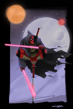 #Deadpool #Fan #Art. (Darth Pool) By: Caleb-Havertape. (THE * 5 * STÅR * ÅWARD * OF: * AW YEAH, IT'S MAJOR ÅWESOMENESS!!!™)[THANK U 4 PINNING!!!<·><]<©>ÅÅÅ+(OB4E)    http://pre08.deviantart.net/ee8b/th/pre/i/2015/358/b/a/darth_pool_by_caleb_havertape-d9lb1by.jpg