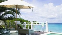 Cotton House Resort: Deluxe Sea Front Rooms feature private pools and decks with beautiful Caribbean views.